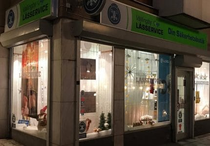 Vällingby Lås butik