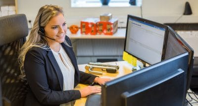 Natalie jobbar som samordnare på SafeTeam