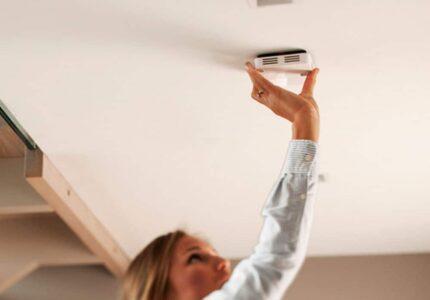 Brandvarningssystem med trådlösa brandvarnare