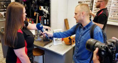 Intervju med låssmed i GP - Göteborgsposten