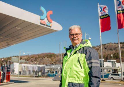 Kamerabevakning på bensinstation hos OKQ8
