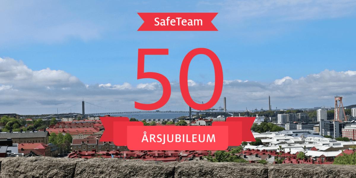 SafeTeam 50 år