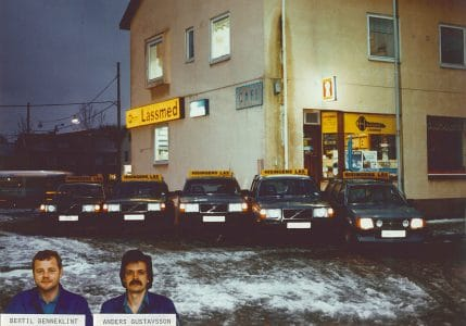 SafeTeam startade som Hisingens Lås 1968.