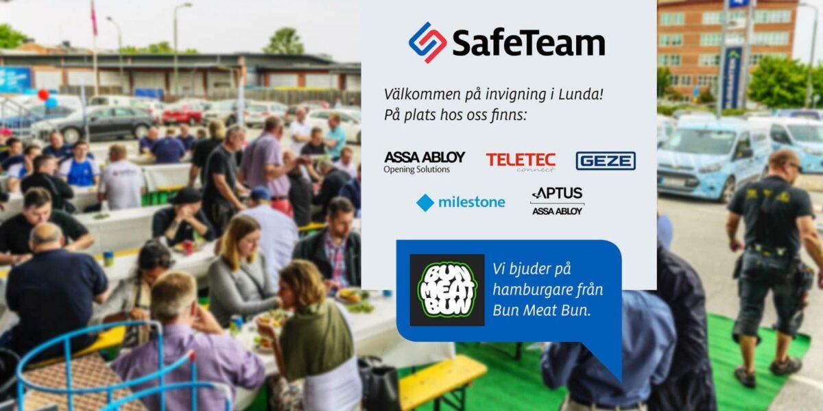 Invigning av låsbutik i Lunda i Stockholm