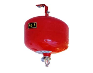 Punktsprinkler, pulverbomb, från SafeTeam